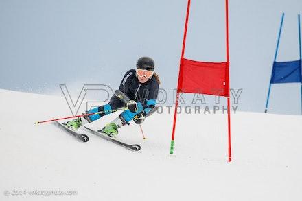 150724_WSCGS_0592 - Perisher Winter Sports Club  athletes training Giant Slalom on Accelerator at Perisher, NSW (Australia) on July 24 2015. Photo: Photo:...