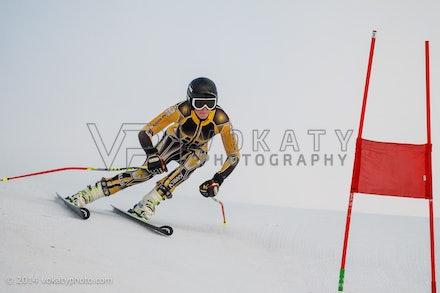 150724_WSCGS_0596 - Perisher Winter Sports Club  athletes training Giant Slalom on Accelerator at Perisher, NSW (Australia) on July 24 2015. Photo: Photo:...