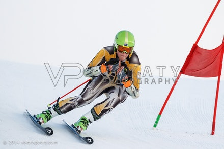 150724_WSCGS_0604 - Perisher Winter Sports Club  athletes training Giant Slalom on Accelerator at Perisher, NSW (Australia) on July 24 2015. Photo: Photo:...