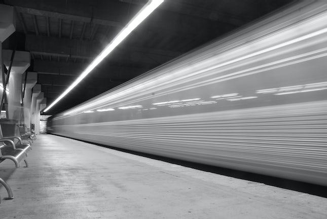 All aboard... - Fortitude Valley Station, Brisbane, Queensland, Australia.