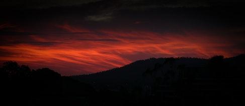 Fire in the sky.. - Brisbane, Australia