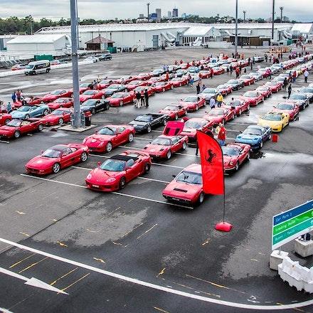 Sydney Exhibition Center @ Glebe Island - Ferrari Road to Sydney