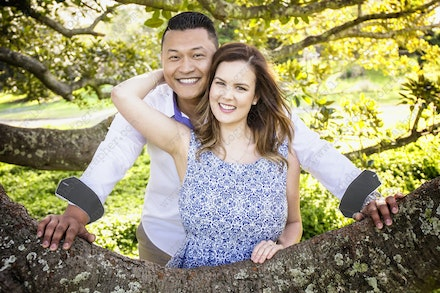 Internet 568 bis Rowanne and Vincent - 25 August 2014 - Centennial Park - Engagement Portrait - professional family photography sydney