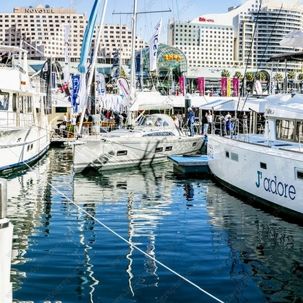 Sydney Exibition Center @ Glebe Island - Boat Show