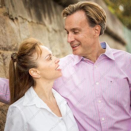 Angie and Tony - family portrait photographers