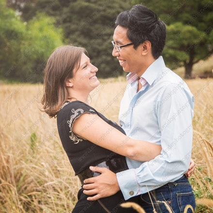 Marie and Lam - family photographer
