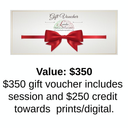 $350 Gift Voucher - Click on the voucher and then click on the cart icon to purchase.