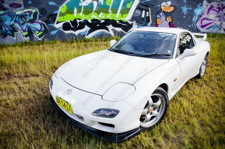022 - Mazda RX7 - 555 Northern Road - 29 June 2017