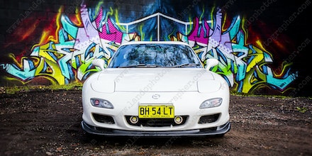 025 - Mazda RX7 - 555 Northern Road - 29 June 2017