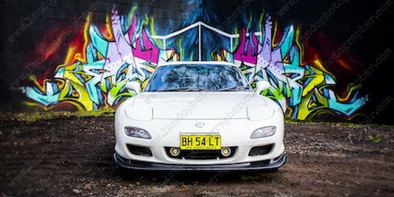 028 - Mazda RX7 - 555 Northern Road - 29 June 2017