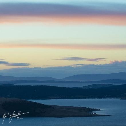Hobart At Sunrise