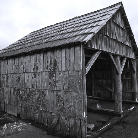 Boat Shed BW