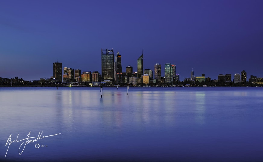 Perth City Evening