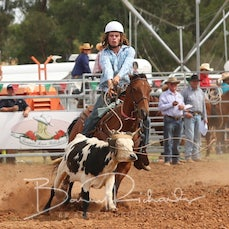 Junior Breakaway Roping - Slack 3
