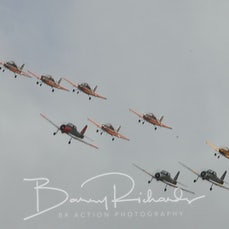 Antique Aircraft Formation - CT4 Winjeel