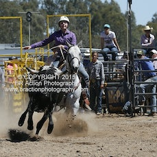 Chiltern APRA Rodeo 2015 - Junior Breakaway Roping - Slack 2
