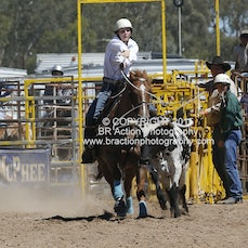 Chiltern APRA Rodeo 2015 - Junior Breakaway Roping - Slack 1