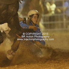 Beechworth Steer Wrestling - Sect 2