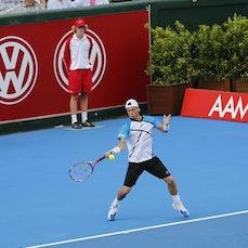 AAMI Exhibition Match - Hewitt v Murray