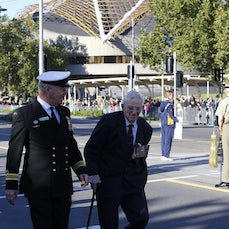 Anzac Day Parade Melbourne 2014