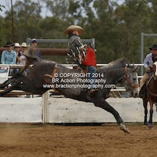 Moranbah Rodeo CQCA 2014 - Novice & Slack Program