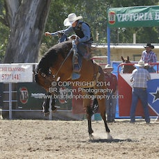 2nd Div Saddle Bronc - Afternoon Sect 1