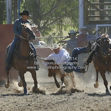 Steer Wrestling - Afternoon - Sect 1