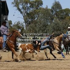 Finley Rodeo - Steer Wrestling - Slack 1