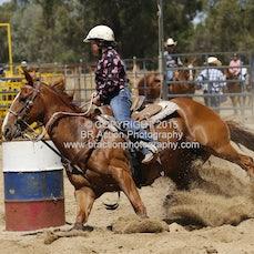 Finley Rodeo - Junior Barrel Race - Slack 1
