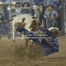 Finley Rodeo - Steer Wrestling - Sect 1