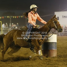 Finley Rodeo - Junior Barrel Race - Sect 1