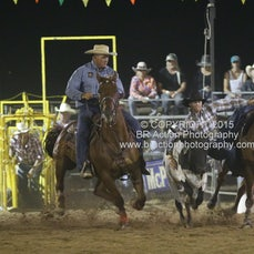 Finley Rodeo - Steer Wrestling - Sect 2