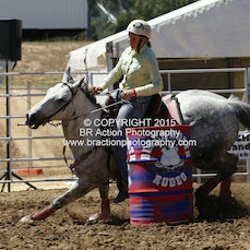 Beechworth Junior Barrel Race - Slack 1