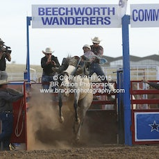 Beechworth Rodeo - 2nd Div Saddle Bronc - Sect 1