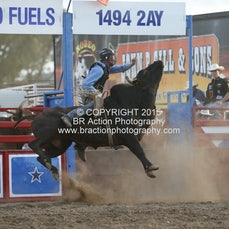 Beechworth Rodeo - 2nd Div Bull Ride - Sect 1
