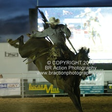 Beechworth Rodeo - 2nd Div Saddle Bronc - Sect 2