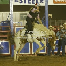 Wagga APRA 2015 - Ladies Saddle Bronc