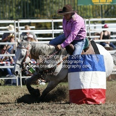 Ballarat 2015 - Barrel Race - Slack 1