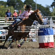 Ballarat - Junior Barrel Race - Slack 1