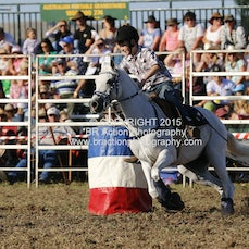 Ballarat - Local Juniors Barrel Race