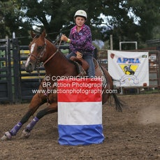 Whittlesea Rodeo - Junior Barrel Race