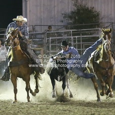 Whittlesea Rodeo - Steer Wrestling - Sect 1
