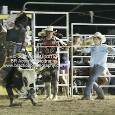 Whittlesea Rodeo - 2nd Div Bull Ride - Sect 3