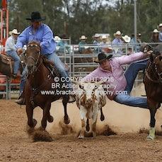 Kyabram APRA Rodeo - Steer Wrestling - Slack 1
