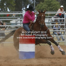 Kyabram APRA Rodeo - Barrel Race - Slack 1