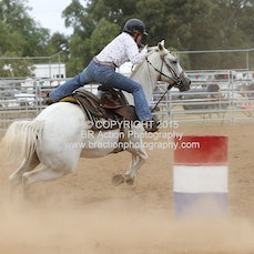 Kyabram APRA Rodeo - Junior Barrel Race - Slack 1