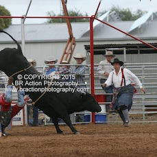 Kyabram APRA Rodeo - 2nd Div Bull Ride - Sect 1