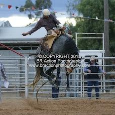 Kyabram APRA Rodeo - 2nd Div Saddle Bronc - Sect 1