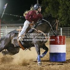 Kyabram APRA Rodeo - Junior Barrel Race - Sect 1