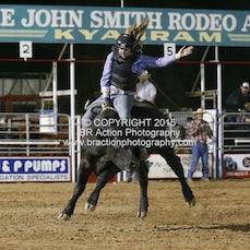 Kyabram APRA Rodeo - Local Steer Ride